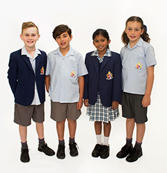 OACC Junior School Summer Uniform