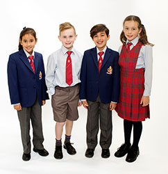 OACC Junior School Winter Uniform
