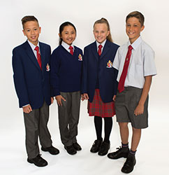 OACC Middle School Winter Uniform