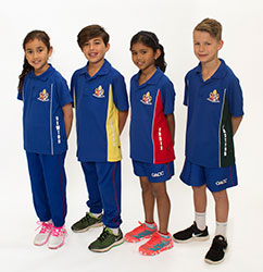 OACC Junior School Sports Uniform